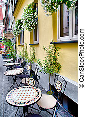 cafe outdoors