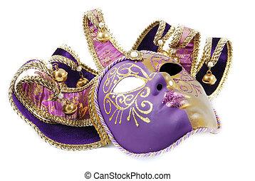 Venetian mask - Beautiful expensive Venetian mask with ...