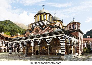 Rila Monastery, Bulgaria - Beautiful exterior architecture...