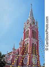 Tam Dinh Catholic Church in Ho Chi Minh City Vietnam