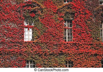 Beautiful facade of a building in Berlin