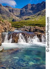 Beautiful Fairy Pools, Isle of Skye - The beautiful Fairy...
