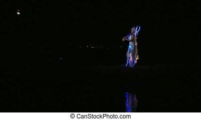 Beautiful Fantastic Violinist - Beautiful girl in a fairy...
