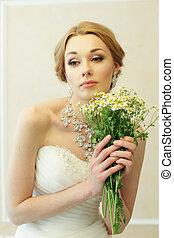 Beautiful fashion woman, portrait