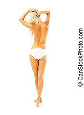 Beautiful female body.