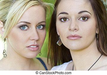 Beautiful Female Friends