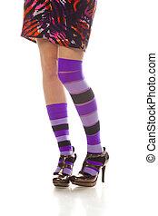 Beautiful female legs.