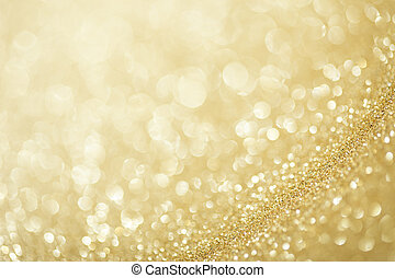 Beautiful festive abstract background with a small depth of ...