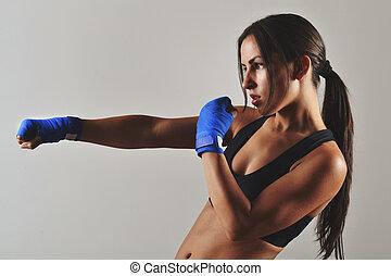 beautiful fitness woman