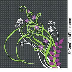 Beautiful floral ornament