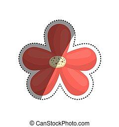 Beautiful flower ornament