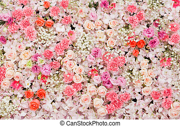 Beautiful flowers backgrounde