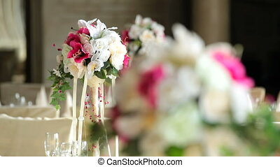 Beautiful flowers for a wedding