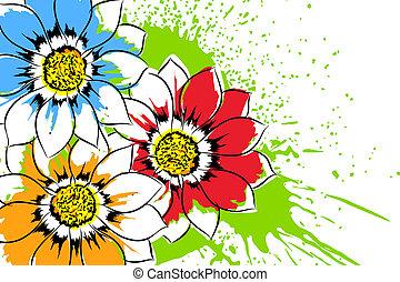 Beautiful flowers - Beautiful bright colorful flowers...
