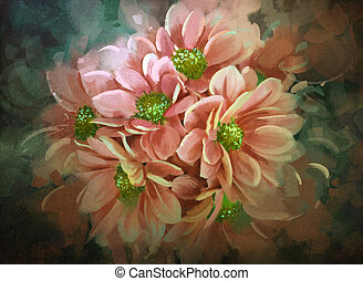 beautiful flowers,color blooming