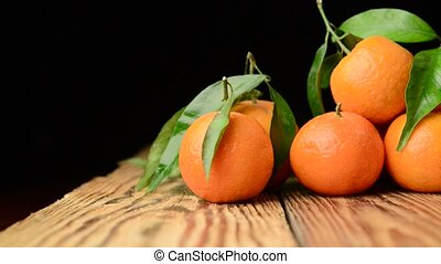 beautiful fruit tangerine - beautiful and healthy fruit...