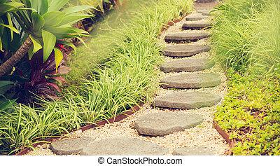 Garden Path - Beautiful Garden Path