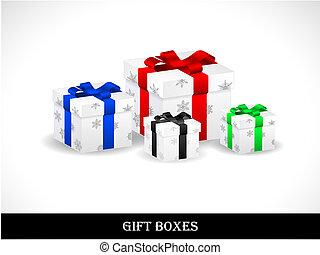 Beautiful gift boxes