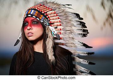 Red Skin Girl