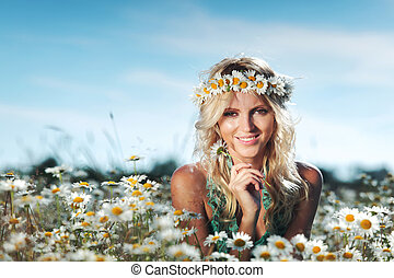 beautiful-girl-on-the-daisy-flowers-field-stock-images_csp13924558 How to Find a Bride On the net