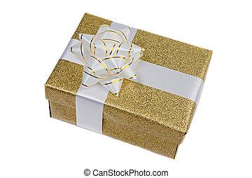 Beautiful golden gift