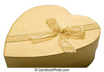 Beautiful golden heart