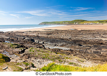 Croyde Beach Devon England UK