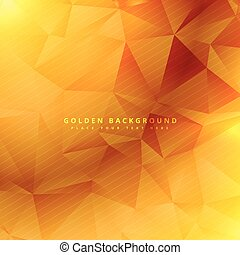 beautiful golden vector background design illustration