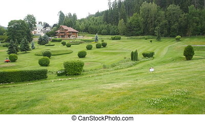 Beautiful golf course Cihelny Czech Republic