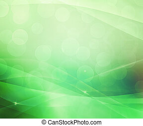 Beautiful Gree Abstract Background