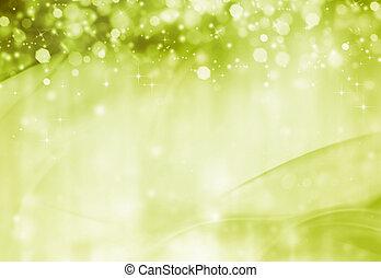 beautiful green festive background