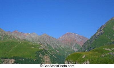 beautiful green mountains of Georgia, overview - beautiful...