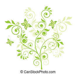 Beautiful green tree