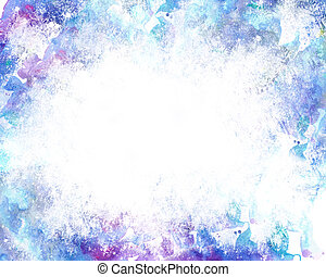 Beautiful grunge splatter background