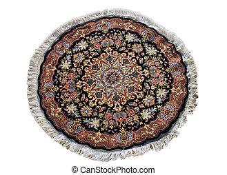 beautiful hand woven persian tabriz carpet fron country of iran