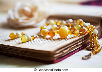 Beautiful handmade jewelry - Close up of beautiful hand...