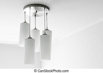 hanging lamp interior decoration on wall