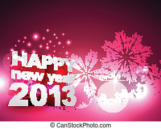 beautiful happy new year