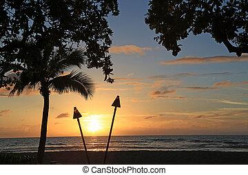 Beautiful Hawaiian Sunset