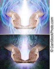 Beautiful healing energy x 2