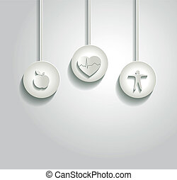heart health care concept - Beautiful heart health care ...