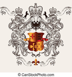 Beautiful heraldic design