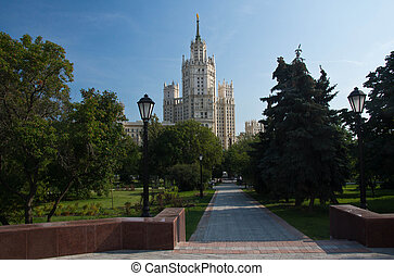 high rise building of the park