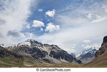 Beautiful Himalaya mountains