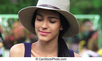 Beautiful Hispanic Person