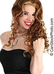 Beautiful Hispanic Woman - Beautiful young Hispanic Woman...