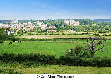 Arundel - Beautiful historical town of Arundel in West...