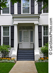 Beautiful home entrance