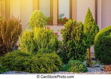Beautiful Home Garden