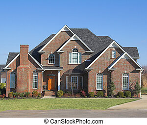 Beautiful homes series b20 - Blue skies, beautiful home in...
